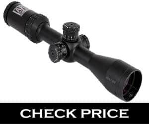 Bushnell Matte Black Drop Zone-22 BDC 2-7x32 Rimfire Optics