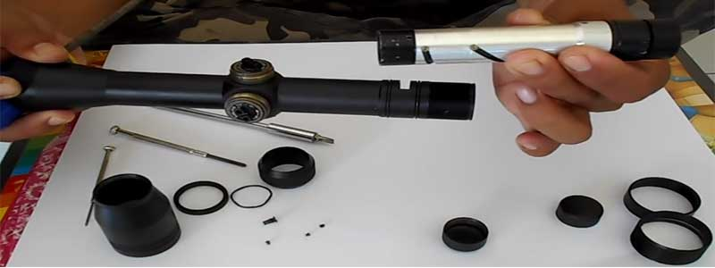 how to properly care for your rifle scope?