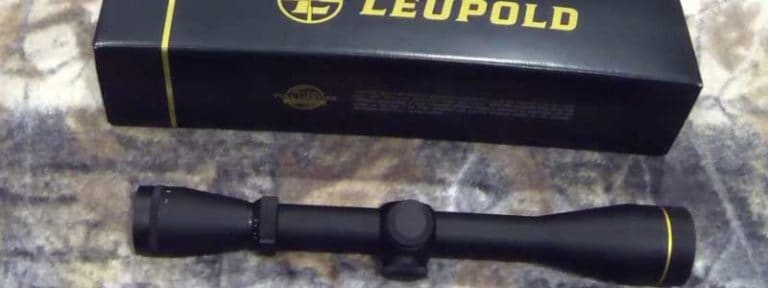 Leupold VX-2 3-9X40 Rifle Scope Review- It's time to light the fire!