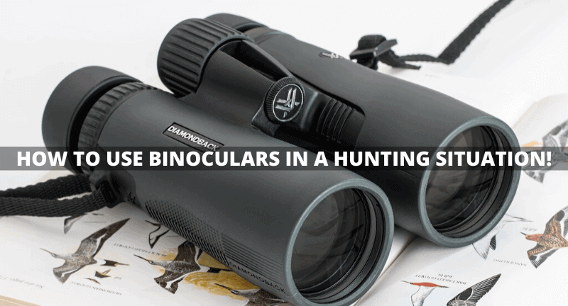 How to Use Binoculars in a Hunting Situation!